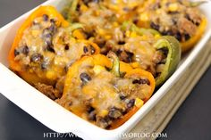 Stuffed Peppers » Table for Two