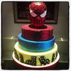Spiderman Wow Cake