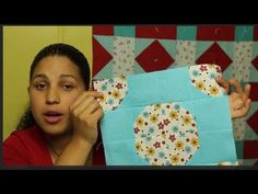 How to make a Bow Tie Quilt Block - Block#1 of 12 ~ Video Quilt Along