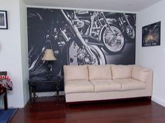 Eazywallz offers more than 20 categories of beautiful wall murals. They are self-adhesive, can be made to size and can be personalized with your photographs.