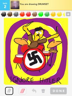 Drumset / Ignore Hitler!