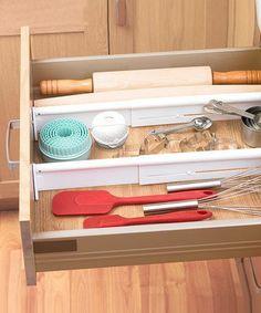 kitchens, kitchen organization, idea, drawer organ, drawer divid