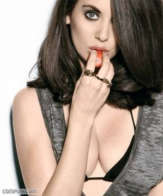 """Alison Brie - Love her in Community, love her in Mad Men, and the only reason I thought that """"5 Year Engagement"""" was worth it. Also, dating Total Ladyboner Dave Franco, James's little brother."""