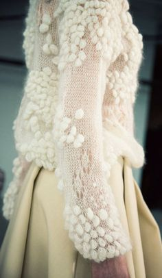 Beautiful delicate knit