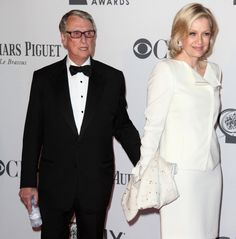 #TonyAwards winner Mike Nichols and his real life leading lady, Diane Sawyer