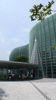 National Art Center, Tokyo.    Designed by Kisho Kurokawa architect & associates and Nihon Sekkei, Inc.