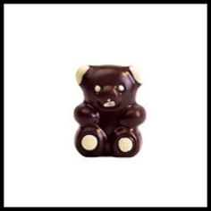 Leonidas Milk Chocolate Bear.  This adorable milk chocolate bear is made from pure, creamy milk and 100% pure cocoa butter without additives. Overnight delivery. - $3.20 (1 chocolate bear, 1.76 oz)