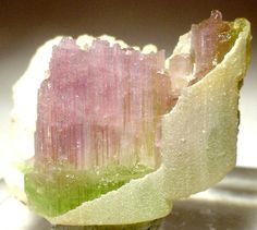 Tourmaline, Cookeite from Himalaya Mine (Himalaya pegmatite; Himalaya dikes), Gem Hill, Mesa Grande District, San Diego Co., California, USA [db_pics/mdpics/MD-23707a.jpg]