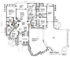 House floorplans on pinterest floor plans house plans for Houseplans bhg com