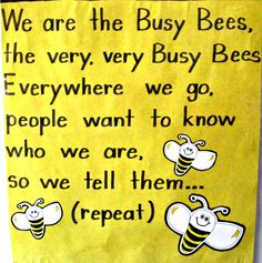 Busy Bee Classroom Theme | have a good feeling about this. I think this is going to be a great ... busy bees classroom, busy bee classroom theme, bees preschool theme, bee theme, bee crafts for preschool, preschool bee crafts, busi bee, bees kindergarten, bees classroom theme