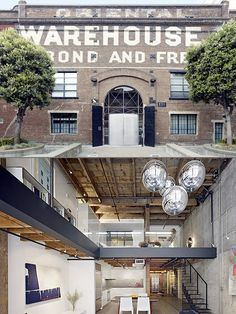 warehouse into home
