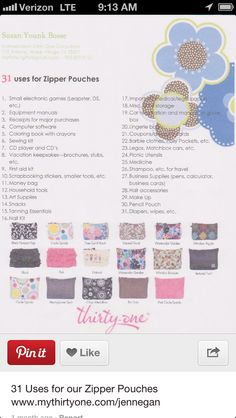 Ideas with thirty one