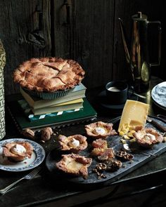 Spiced Custard Mini Pies Recipe #thanksgiving #PinToWin #Anthropologie