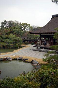 Ninna-ji: Shinden & Garden #japan #kyoto
