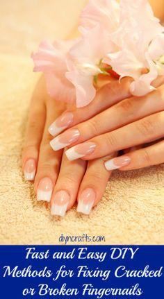 Fast and Easy DIY Methods for Fixing Cracked or Broken Fingernails
