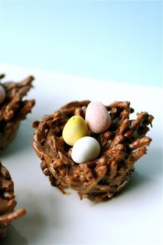cute Easter bird's nest