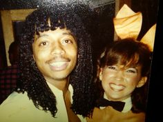 Rick James and Bunny Cherie