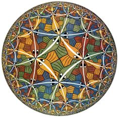 M.C. Escher's Circle Limit III