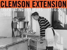 Improved facilities reduce labor and increase efficiency in processing and bottling milk on the J.R. Davis farm of Greenville county. Image featured in Extension Circular 443, Farm and Home Development in South Carolina, 1958. Image courtesy of Clemson University Special Collections. #ClemsonExt100