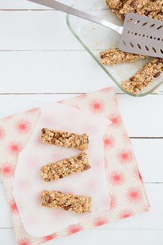 Salted Caramel Granola Bars~{Make w/ certified gluten-free oats}
