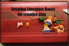 Literature Boxes - Farmer in the Dell and Ask Mr. Bear : Nurturing Learning