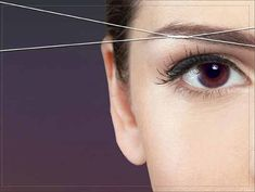 How to Thread Your Eyebrows (the proper way) – Video Tutorial   Beauty and MakeUp Tips
