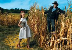 """""""Wizard of Rad"""": Annie Leibovitz's  version of The Wizard of Oz. featuring Keira Knightley as Dorothy."""