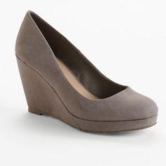 Apt. 9 Platform Wedges - Women #kohls I have these heels from Kohls and LOVE them! women kohl, platform wedg