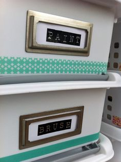 Craft Desk Storage | Lets Get Crafty!