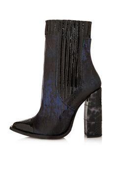 boot 20132014, topshop uniqu, fashion, octob voguecom, chelsea boots