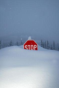 Stop! No Please Stop Snowing!