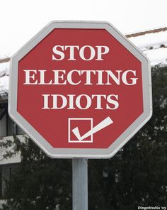 Note to self....no more idiots!!!