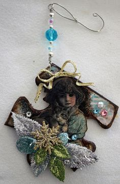 Puzzle piece ornaments