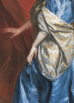 Anthony van Dyck, Lucy Percy, Countess of Carlisle (detail), 1637