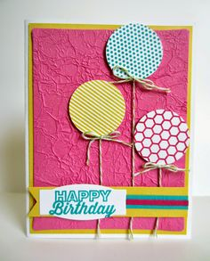 Paper Seedlings: BALLOONS ON A MYSTERY BACKGROUND