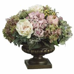 Hydrangea/ Lilac/ Peony Silk Flower Arrangement ARWF1191