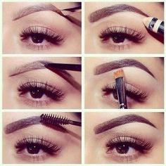 A different take on how to do eyebrows...