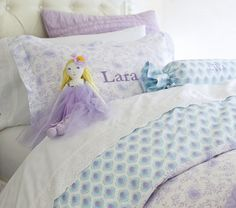 Lara Reversible Duvet Cover | Pottery Barn Kids