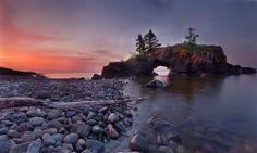 Hollow Rocks Dawn