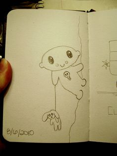 Daily Doodle 8/6/10, via Flickr.
