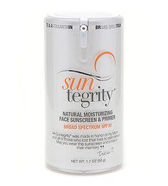 Suntegrity - Natural Moisturizing Face Sunscreen & Primer - 1.7 oz