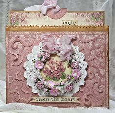 pocket, heart, envelopes, paper fun, couture, ann paper, cardmak, handmad tagstag, mini