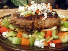 "Extreme Vegan Makeover: ""Chicken-Fried"" Seitan Steak with Buffalo Vinaigrette Edition"