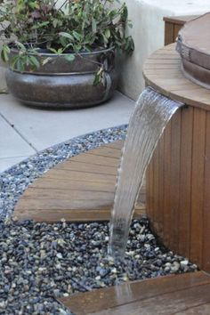 Garden Water Features and Ponds on Pinterest