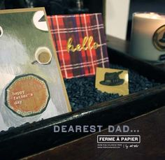 Happy Father's Day to all the dear dads our in our lives!  ferme à papier | inspiration from near and far