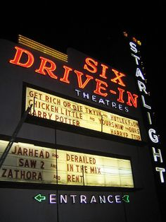 Still have a Drive-In in Maryville,Tn! Near our property in Townsend, Tn!