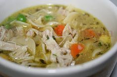 Deep South Dish: Mary's Basic Homemade Chicken Noodle Soup