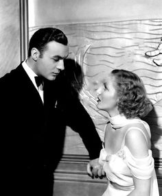 Charles Boyer & Jean Arthur, History is Made at Night, 1937 (costume by Bernard Newman)