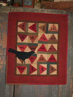 couch, cheri payn, art quilt, quilt patterns, cheri saffiotepayn, crow, cheri cheri, watermelon slice, mini