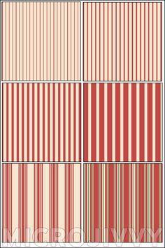 Cream and Rust 1:144 Scale Wallpaper